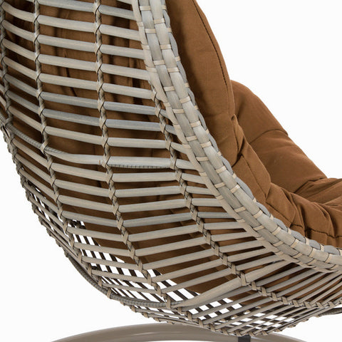 Hanging basket seat (205 x 98 x 98 cm) by Craftenwood-Universal Store London™