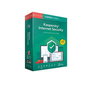Home Antivirus Kaspersky Internet Security Multi-Device 2019 (4 devices)-Universal Store London™