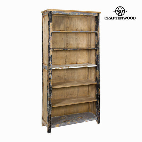 6-shelf bookcase - Poetic Collection by Craftenwood-Universal Store London™