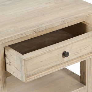 Side Table Mindi wood (69 x 54 x 46 cm) - Pure Life Collection by Craftenwood