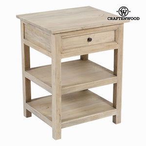Side Table Mindi wood (69 x 54 x 46 cm) - Pure Life Collection by Craftenwood-Universal Store London™