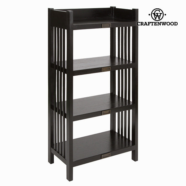 Bookcase 4 shelves - Chocolate Collection by Craftenwood-Universal Store London™