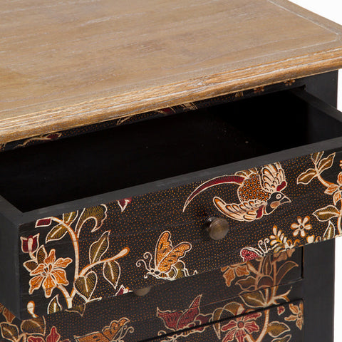 Side Table Craftenwood (50 x 38 x 75 cm) - Paradise Collection-Universal Store London™
