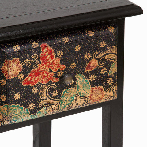 Side table with 1 drawer - Paradise Collection by Craftenwood-Universal Store London™
