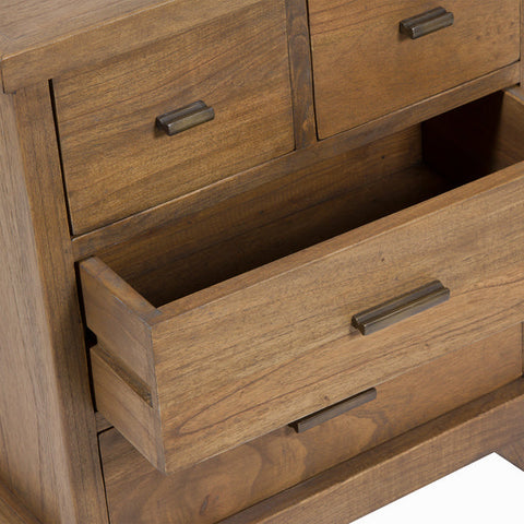 Nightstand Craftenwood (53 x 35 x 63 cm) - Ellegance Collection-Universal Store London™