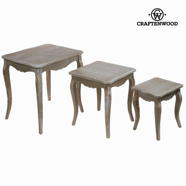 Nest tables set/3 - Vintage Collection by Craftenwood-Universal Store London™