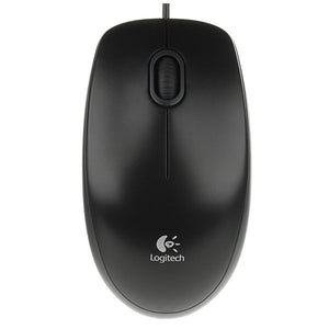 Logitech Mouse B100 OEM Black-Universal Store London™