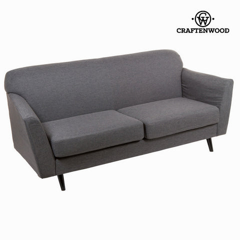 3-Seater Sofa Grey (193 x 83 x 86 cm) - Love Sixty Collection by Craftenwood-Universal Store London™