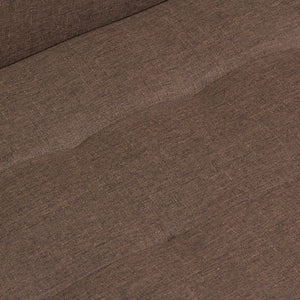 3 seater sofa brown loft - Love Sixty Collection by Craftenwood