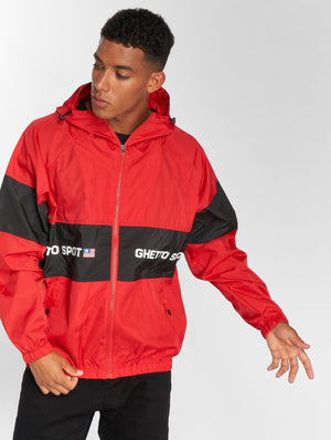 Maskulin / Lightweight Jacket Ghetto in red