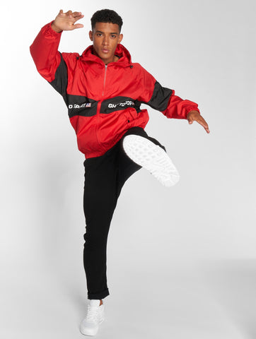 Maskulin / Lightweight Jacket Ghetto in red-Universal Store London™