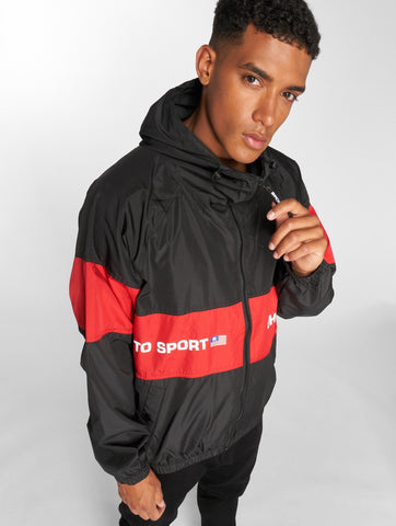 Maskulin / Lightweight Jacket Ghetto in black-Universal Store London™