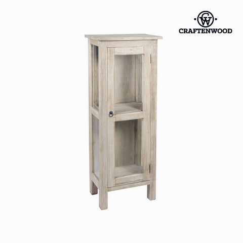 Image of Display Cabinet With Glass Door Wood - Autumn Collection by Craftenwood-Universal Store London™