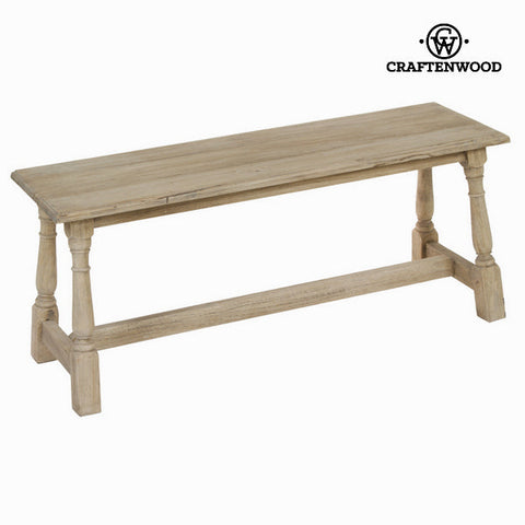 Image of Wooden bench - Pure Life Collection by Craftenwood-Universal Store London™
