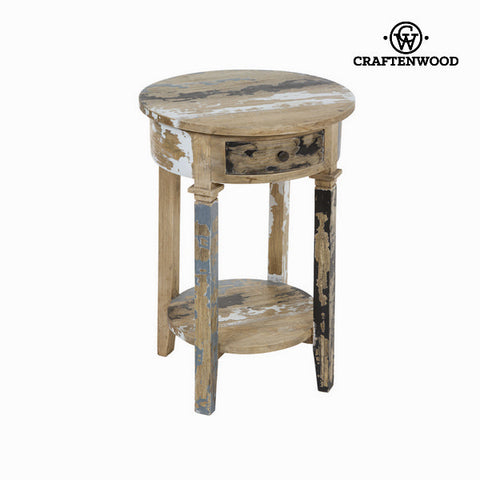 Image of Pickling round pedestal - Poetic Collection by Craftenwood-Universal Store London™