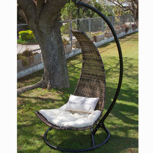 Rattan pendant chair by Craftenwood