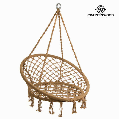 Image of Hammock hanging round by Craftenwood-Universal Store London™