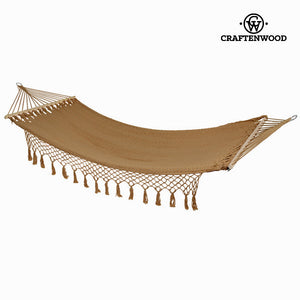 Hammock hanging brown by Craftenwood-Universal Store London™