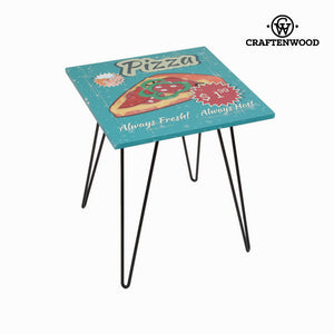 Square pizza table by Craftenwood-Universal Store London™