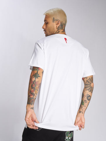 Who Shot Ya? / T-Shirt Life after death in white-Universal Store London™