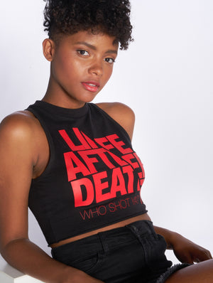 Who Shot Ya? / Tank Tops Life after death in black-Universal Store London™