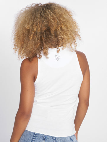 Who Shot Ya? / Tank Tops Miss WSY in white-Universal Store London™