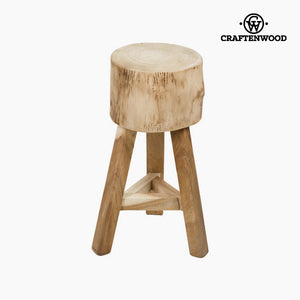 Stool Dean Teak (28 x 28 x 56 cm) by Craftenwood-Universal Store London™