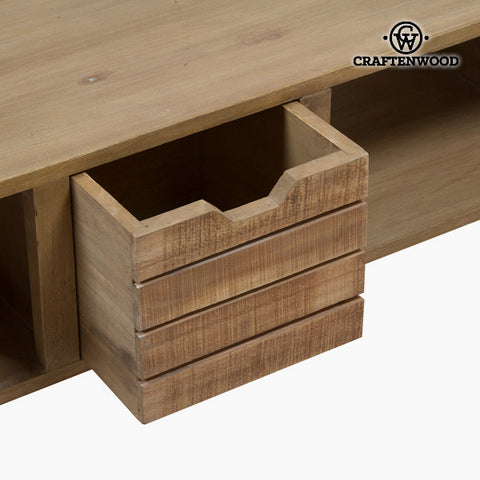 Centre Table Bergen Mindi wood (121 x 70 x 45 cm) by Craftenwood-Universal Store London™