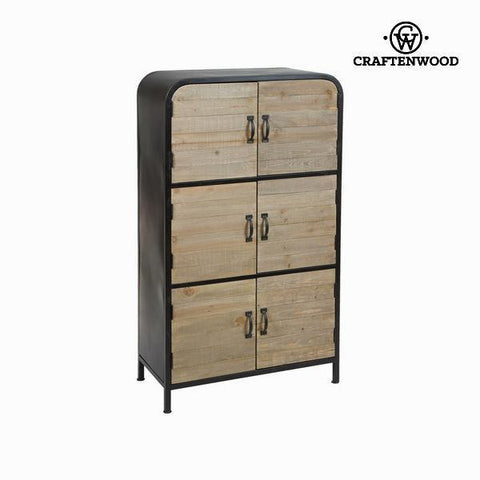 Image of 6 doors showcase dalton by Craftenwood-Universal Store London™