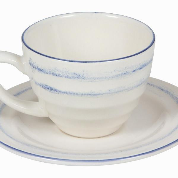 6 piece tea cups with saucer - Kitchen's Deco Collection by Bravissima Kitchen-Universal Store London™