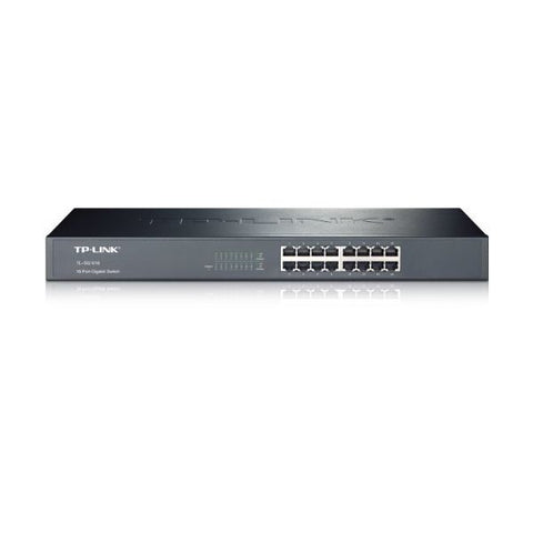 "Image of Cabinet Switch TP-LINK TL-SG1016 16P Gigabit 19""-Universal Store London™"