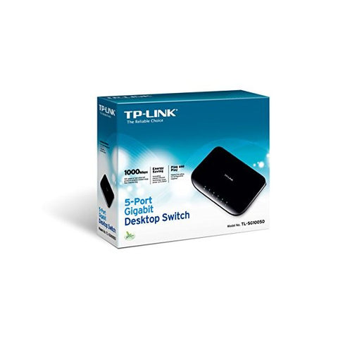 Desktop Switch TP-LINK TL-SG1005D 5P Gigabit Plastic-Universal Store London™