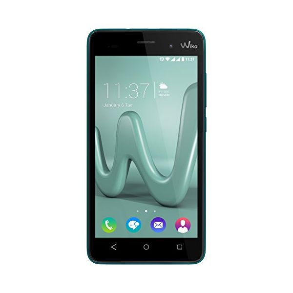 "Smartphone WIKO MOBILE Lenny 3 5"" HD IPS Quad Core 1.3 GHz RAM 1 GB 16 GB Turquoise-Universal Store London™"