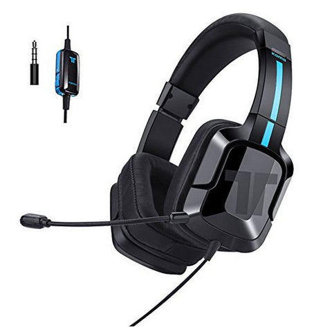 Gaming Earpiece with Microphone Tritton 90131 Black/blue-Universal Store London™