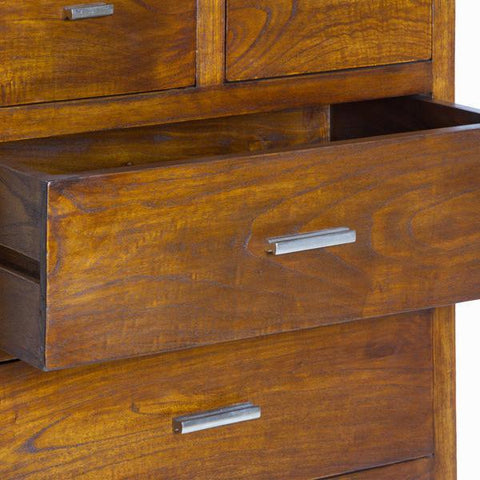 Image of 7-draw chest - Chocolate Collection by Craften Wood-Universal Store London™