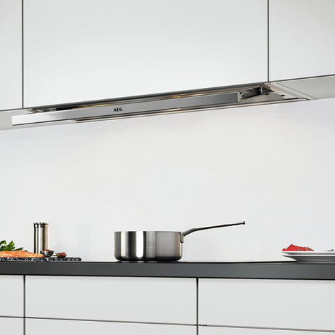 Image of Conventional Hood Aeg DPE3940M 942 150 548 581m3/h 90 cm Stainless steel-Universal Store London™