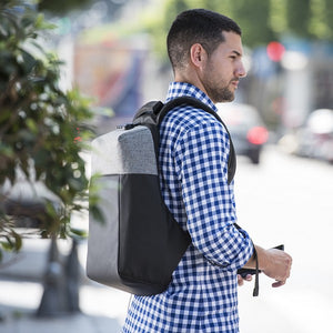 Anti-theft Rucksack with USB and Tablet and Laptop Compartment 145949-Universal Store London™