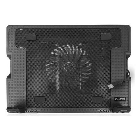 Cooling Base for a Laptop Ewent EW1258 17'''' Black-Universal Store London™