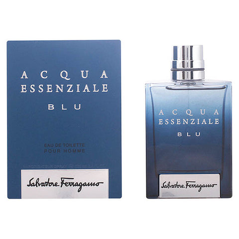 Men's Perfume Acqua Essenziale Blu Salvatore Ferragamo EDT-Universal Store London™