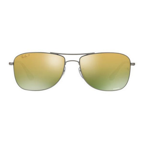 Image of Men's Sunglasses Ray-Ban RB3543 029/6O 59 GUN/GRN P (52 mm)-Universal Store London™