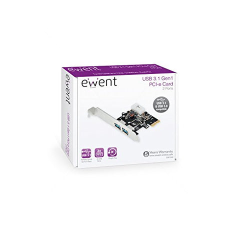 PCI Card Ewent EW1040 2x USB 3.1-Universal Store London™