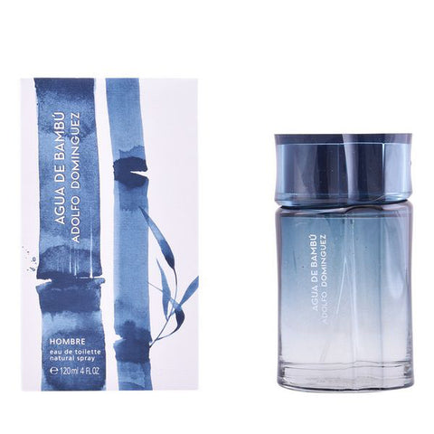 Men's Perfume Agua De Bambú Man Adolfo Dominguez EDT (120 ml)-Universal Store London™