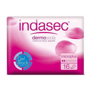 Incontinence Sanitary Pad Dermoseda Micro Plus Indasec (16 uds)-Universal Store London™