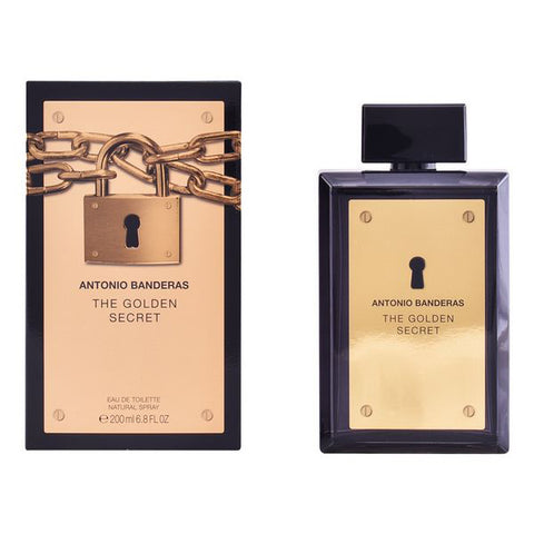 Image of Men's Perfume The Golden Secret Antonio Banderas EDT (200 ml)-Universal Store London™