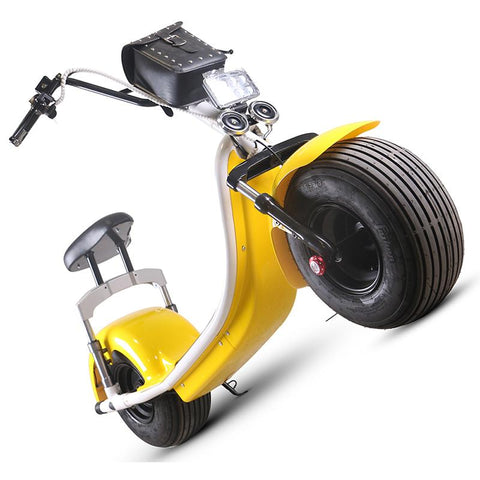Image of CityBot Fatboy Harley Style Road Legal Fat Wheel Electric Scooter Cruiser-Universal Store London™