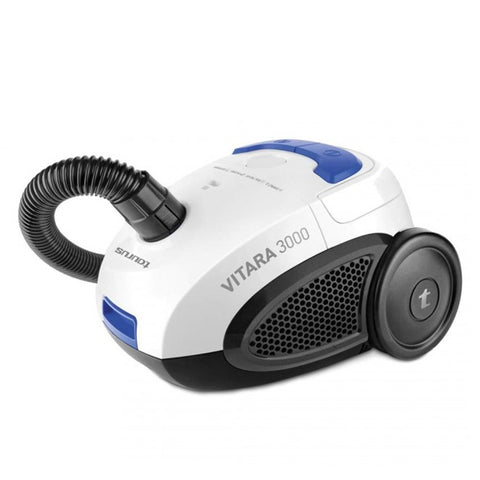 Bagged Vacuum Cleaner Taurus Vitara 3000 New 2 L 800W 80 dB (B) White Blue Black-Universal Store London™