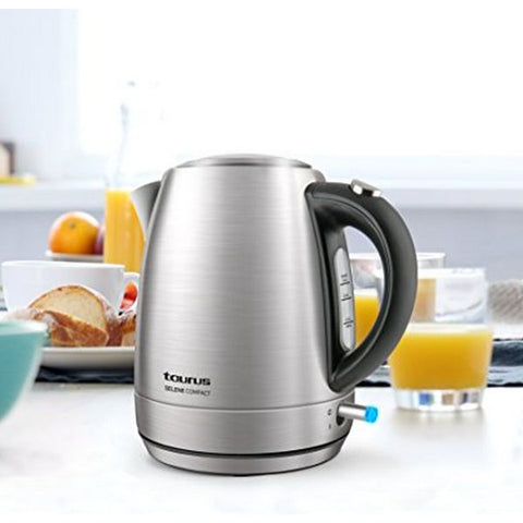 Image of Kettle Taurus SELENE COMPACT 1 L 2200W Stainless steel-Universal Store London™