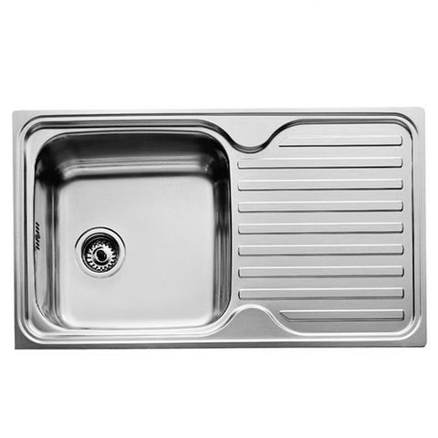 Sink with One Basin Teka 11119005 CLASSIC 1C 1E Stainless steel-Universal Store London™