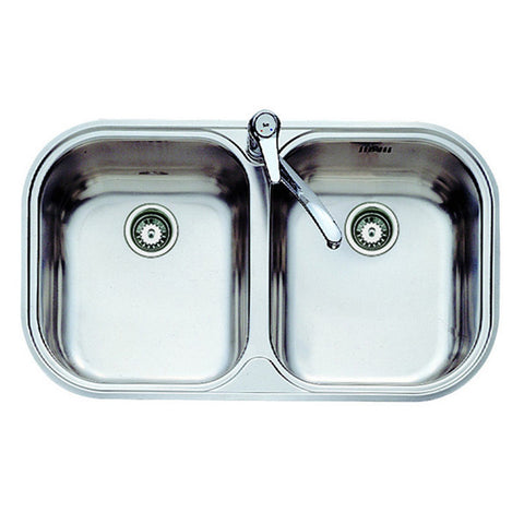 Sink with Two Basins Teka 11107028 STYLO 2C Stainless steel-Universal Store London™
