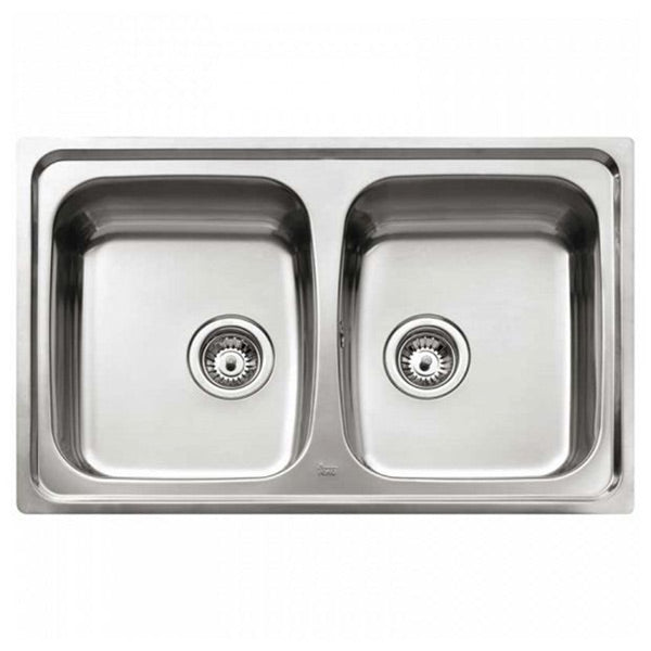 Sink with Two Basins Teka Stainless steel-Universal Store London™